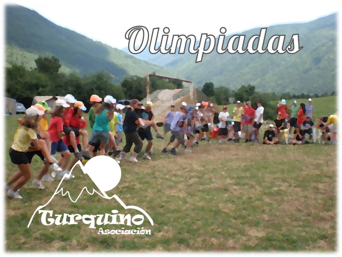 Olimpiadas en campamento de verano Turquino
