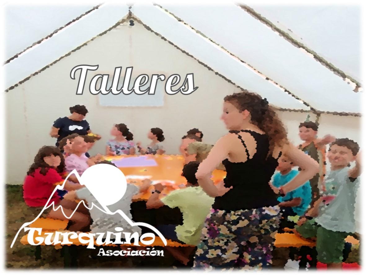 Talleres en campamento de verano Turquino