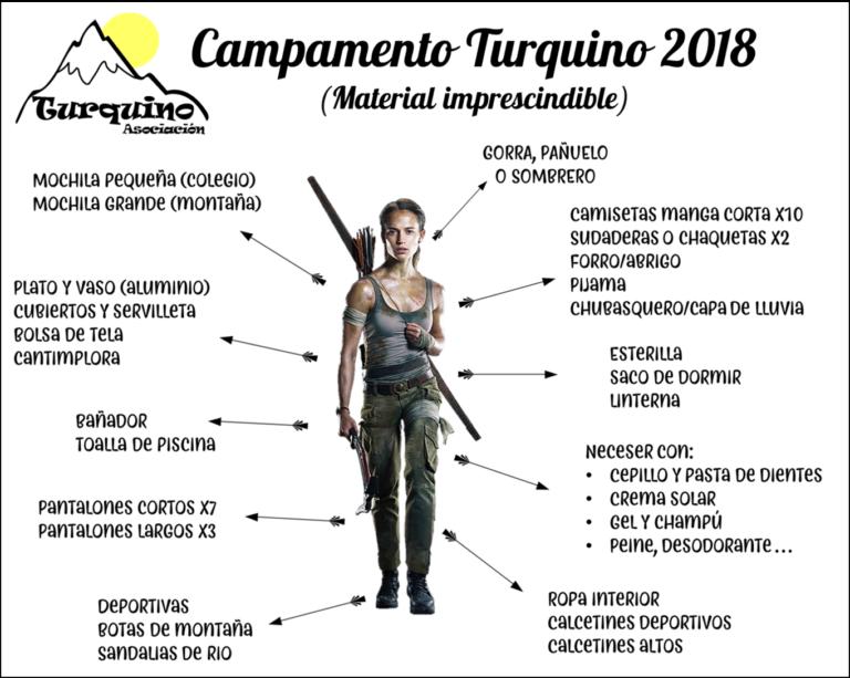 Material Turquino 2018